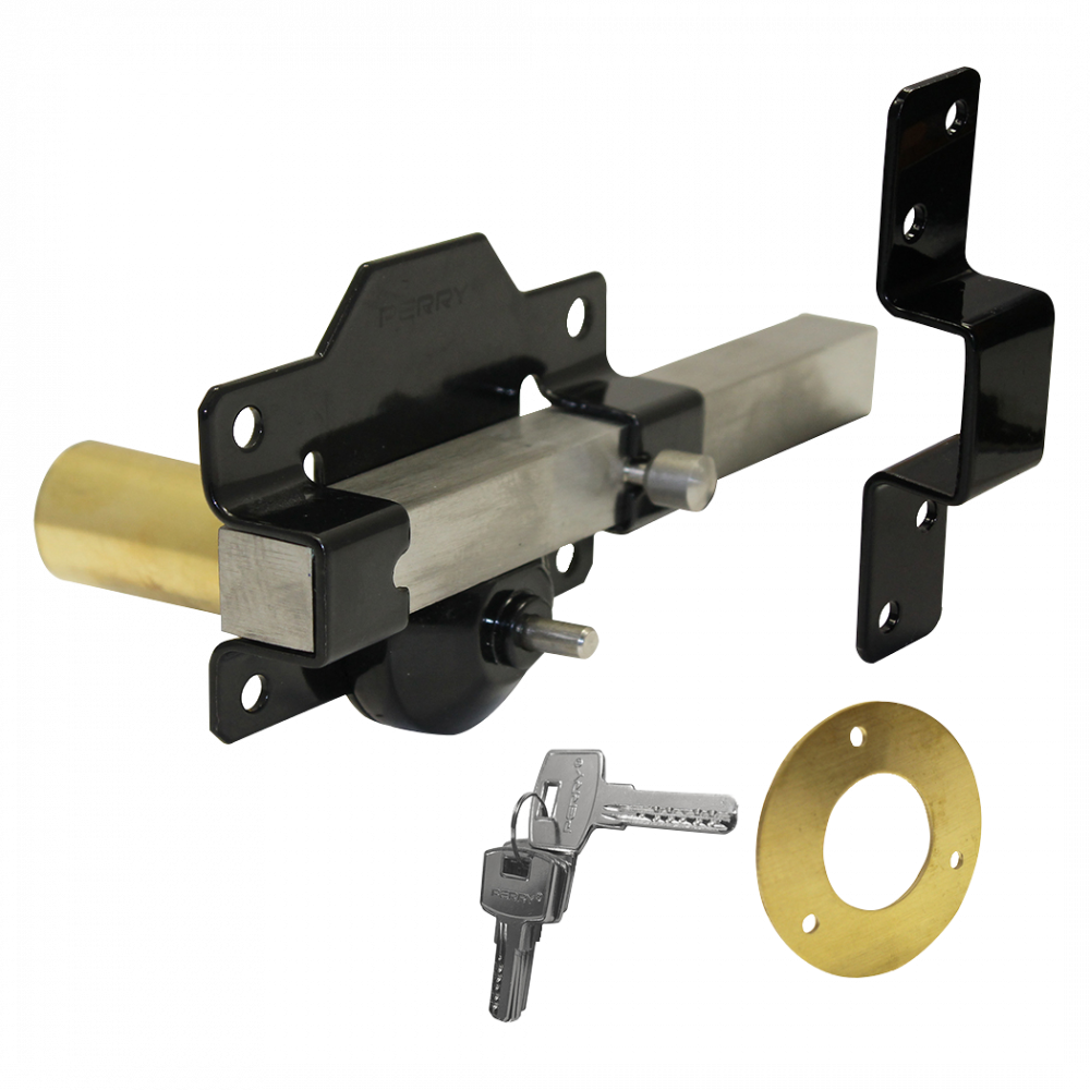 A PERRY Single Locking Long Throw Gate Lock 1 Locksmith in Stirling