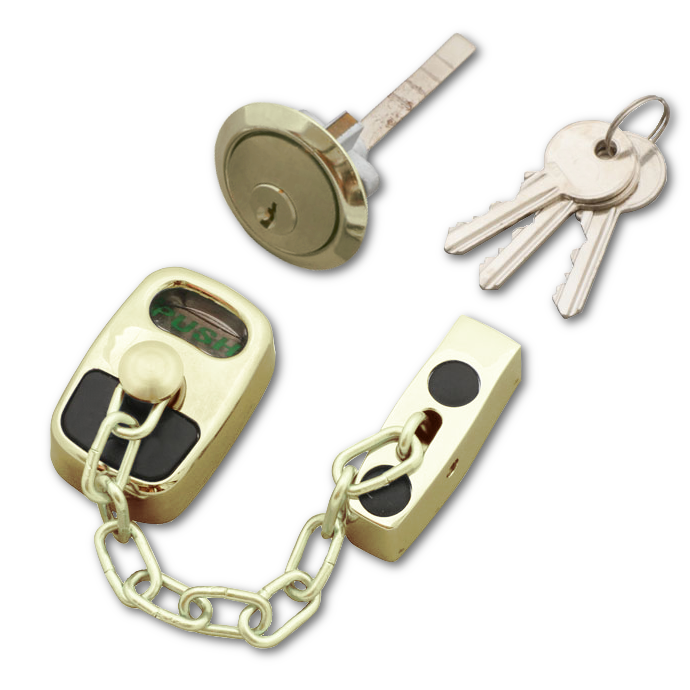 ASEC Door Chain with External Cylinder 1 Locksmith in Stirling