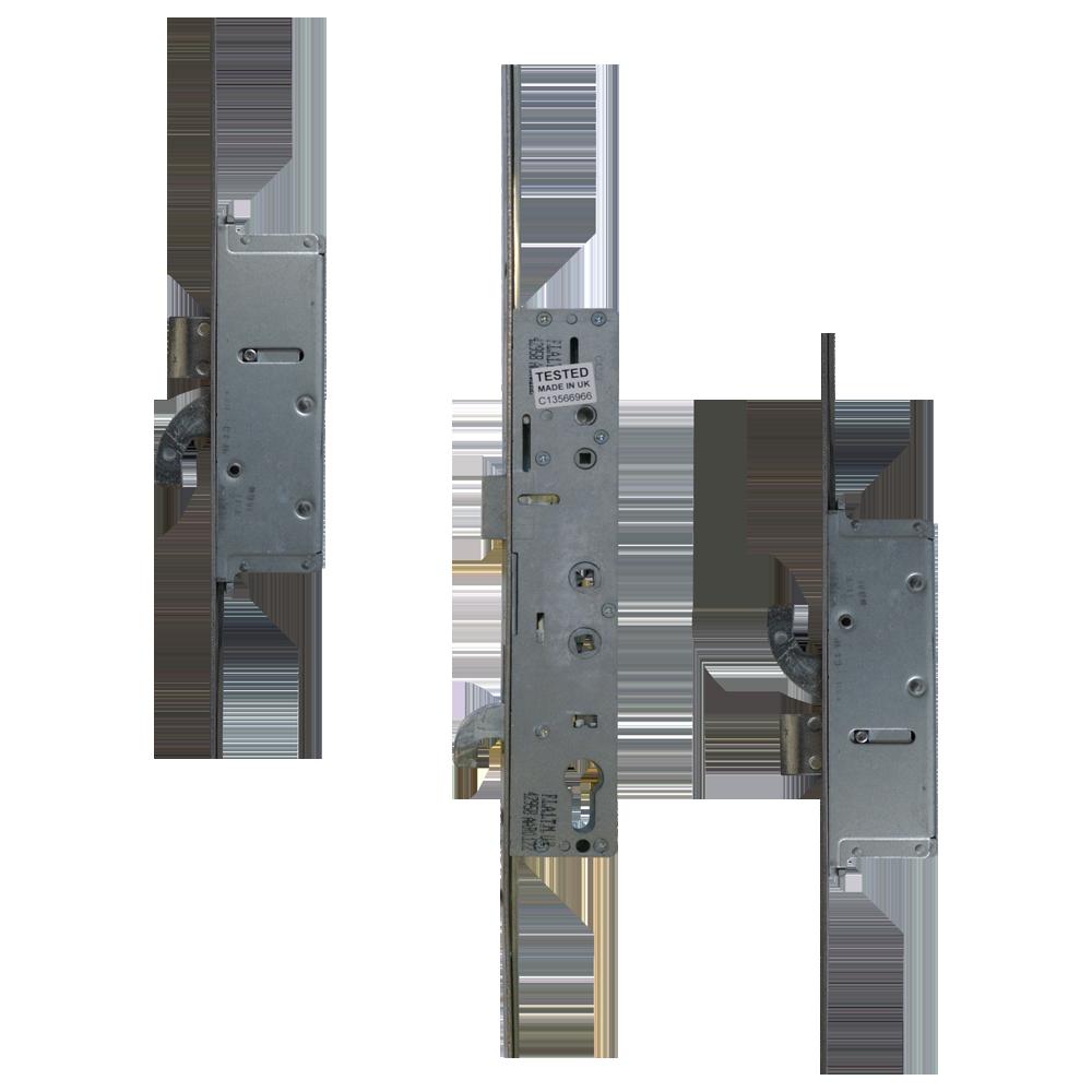 SAFEWARE 8 Lever Operated Latch & Hookbolt Twin Spindle - 2 Hook 2 Bolt 1 Locksmith in Stirling