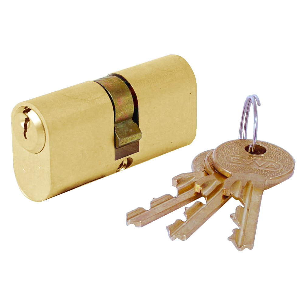 EVVA A5 ODZ Oval Double Cylinder - KA 1 Locksmith in Stirling