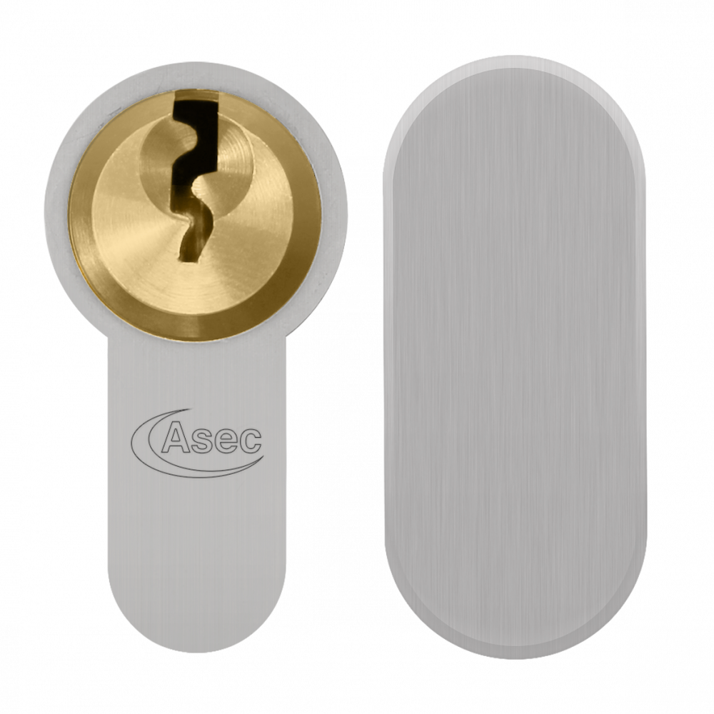 ASEC Vital 6 Pin Key & Turn Euro Dual Finish Snap Resistant Cylinder 1 Locksmith in Stirling