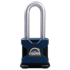 SQUIRE LS64 Stronglock Long Shackle Padlock With Cylinder 1 Locksmith in Stirling