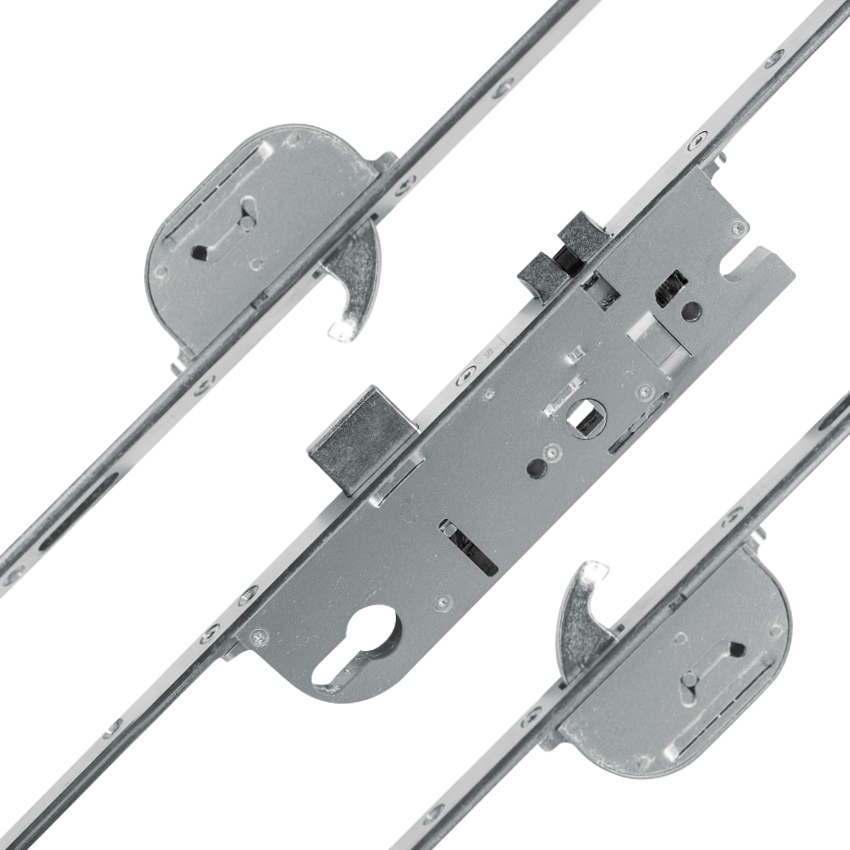 MACO Lever Operated Latch & Deadbolt Single Spindle - 2 Hook 1 Locksmith in Stirling