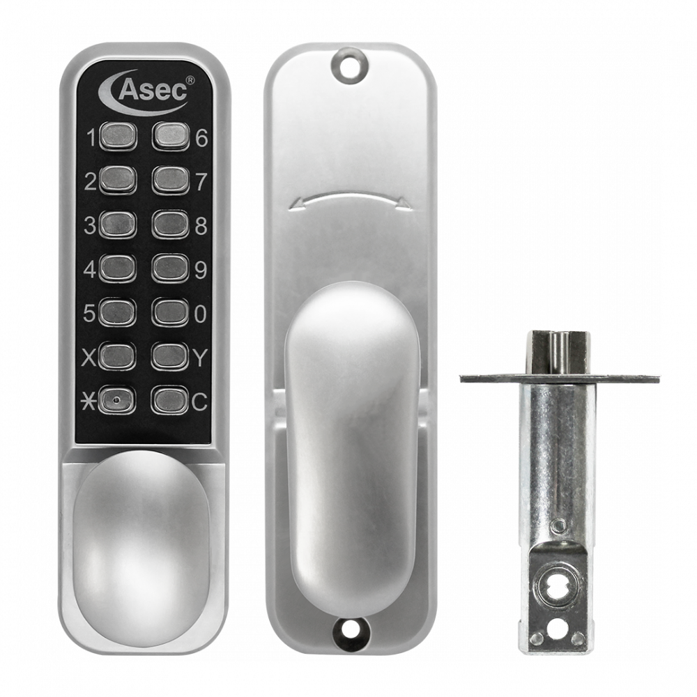 ASEC AS3300 Series Easy Code Change Oval Knob Digital Lock With Optional Holdback 1 Locksmith in Stirling