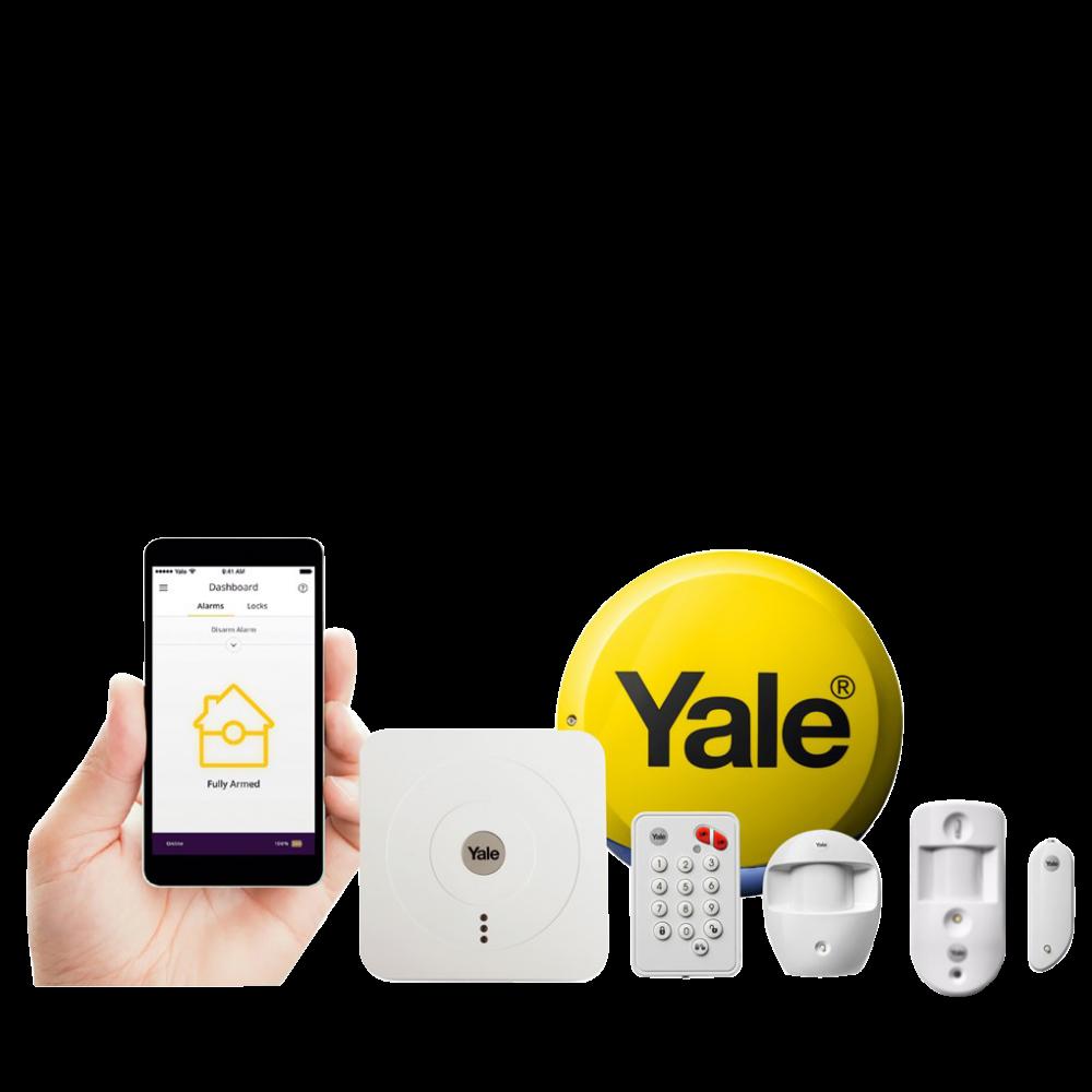 YALE Smart Home Alarm & View Kit SR-330 1 Locksmith in Stirling