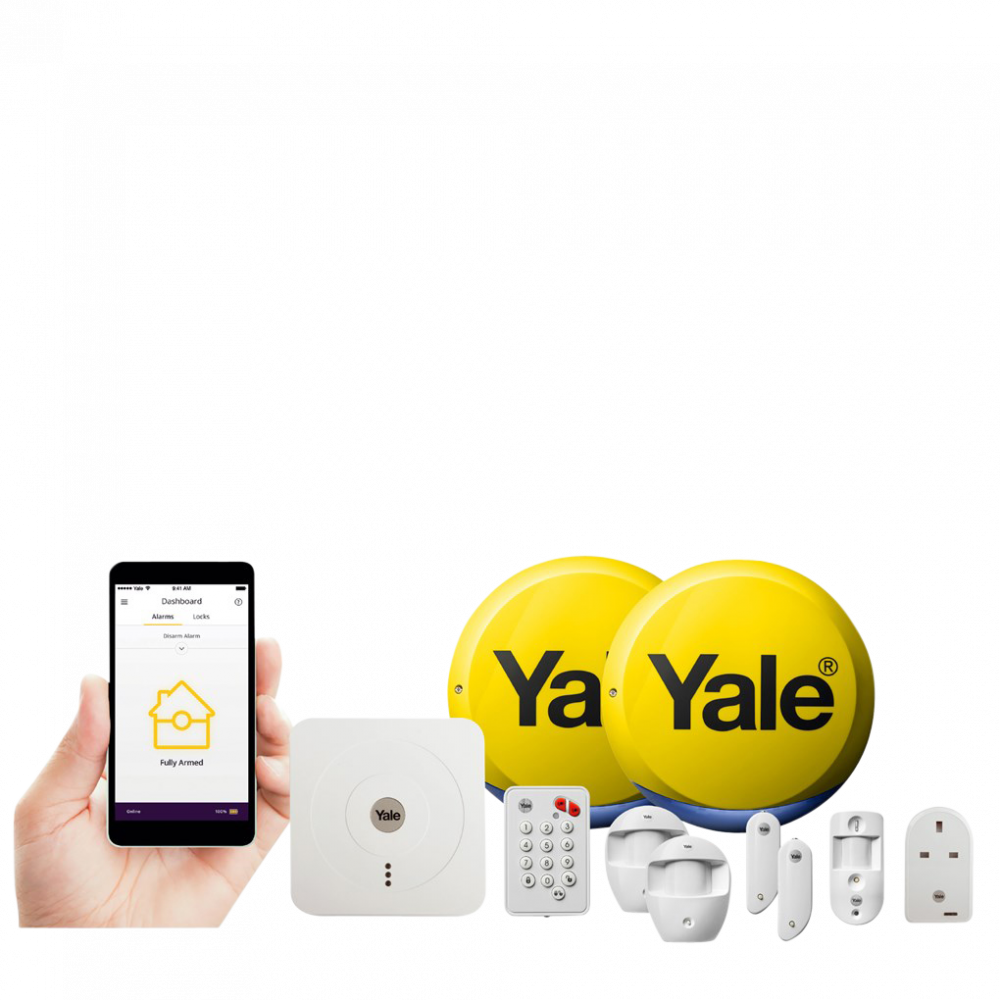 YALE Smart Home Alarm, View & Control Kit SR-340 1 Locksmith in Stirling