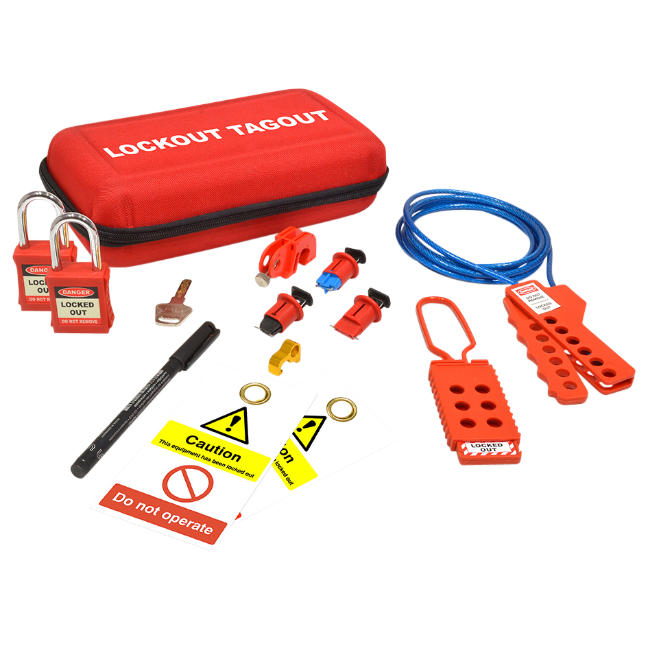 ASEC Maintenance Electrical Lockout Tagout Kit 1 Locksmith in Stirling