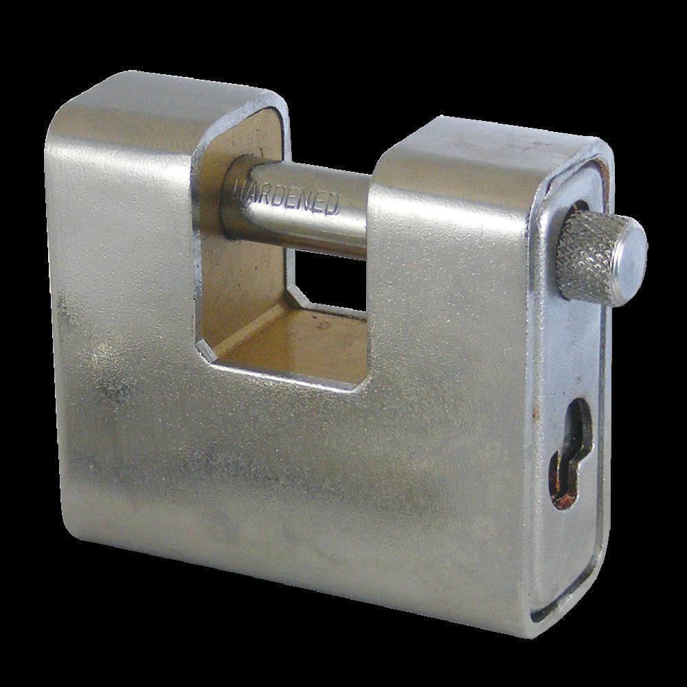 ASEC Steel Sliding Shackle Padlock 1 Locksmith in Stirling