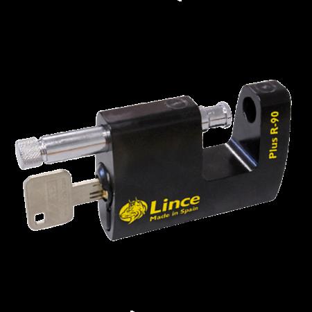 LINCE R90 Plus Monoblock Sliding Shackle Padlock 1 Locksmith in Stirling