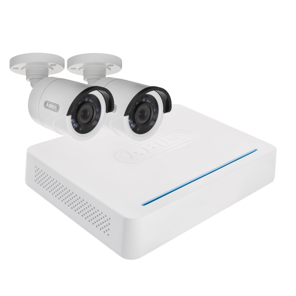ABUS TVVR33025T AHD 2 Bullet Camera CCTV Kit 1 Locksmith in Stirling