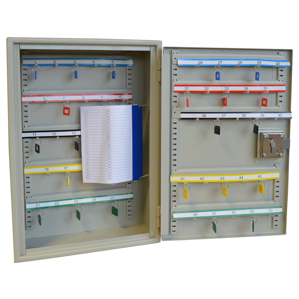 ASEC Extra Security 50 Hook Cabinet for Padlocks or Key Bunches 1 Locksmith in Stirling