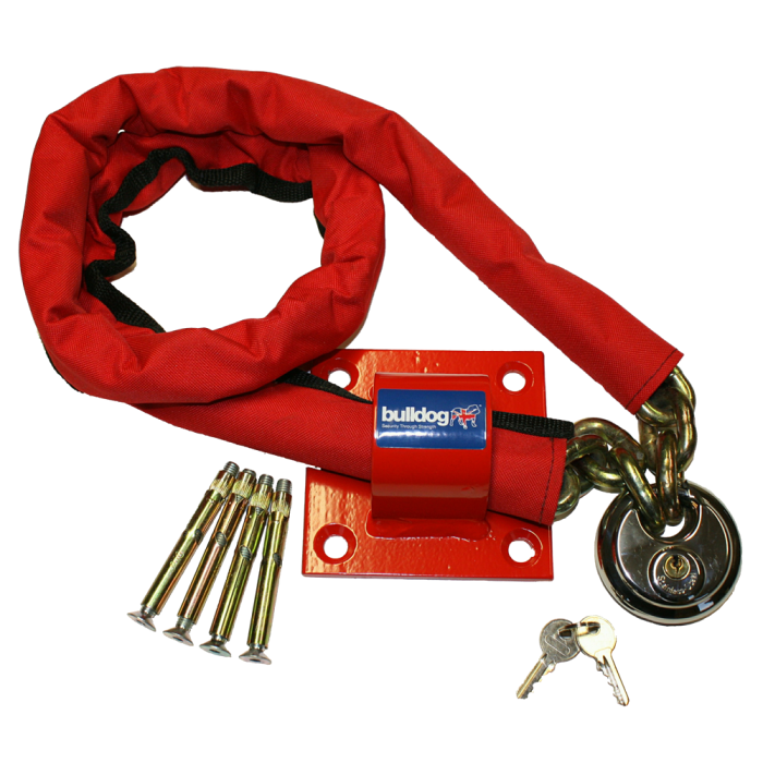 BULLDOG MC30 Chain, Padlock & Wall/Floor Anchor Kit 1 Locksmith in Stirling