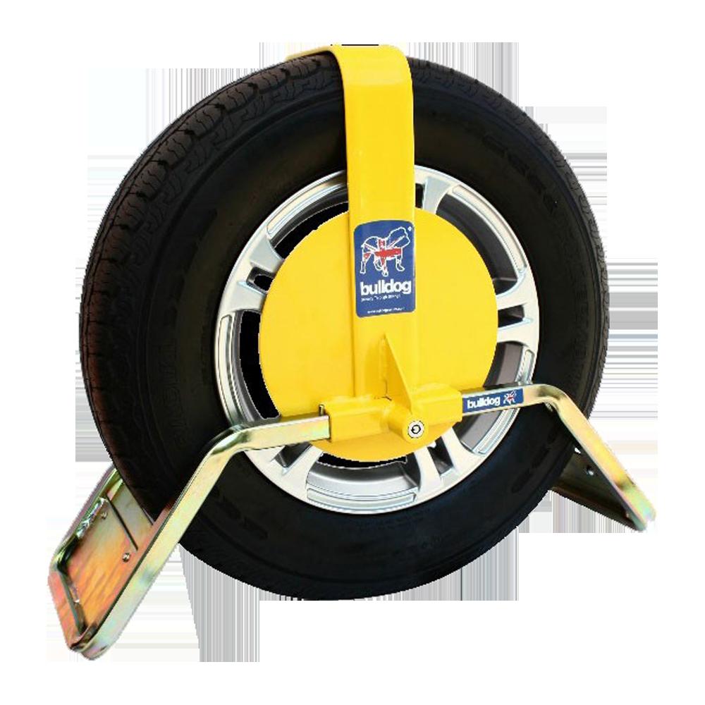 BULLDOG QD Series Wheel Clamp To Suit Caravans & Trailers 1 Locksmith in Stirling