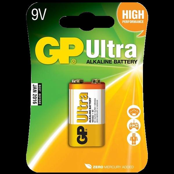 GP 9V Ultra Alkaline Battery 1 Locksmith in Stirling