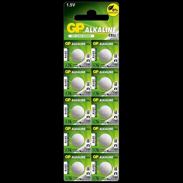 GP A76-C10 LR44 Alkaline Battery 1 Locksmith in Stirling
