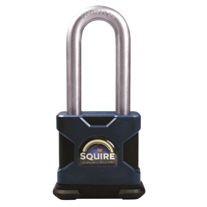 SQUIRE Stronghold Long Shackle Padlock Body Only To Take KIK-SS Insert 1 Locksmith in Stirling