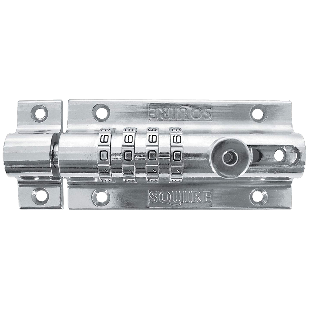 SQUIRE Combi 4 Chrome Die Cast Combination Bolt 1 Locksmith in Stirling