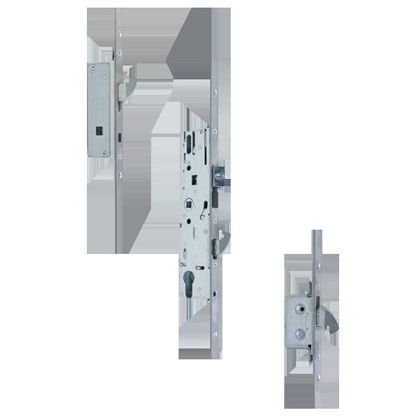 YALE AutoSecure Lever Operated Latch & Hookbolt Split Spindle - 2 Hook 16mm 1 Locksmith in Stirling