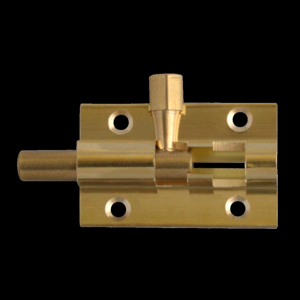ASEC VITAL Brass 25mm Wide Straight Barrel Bolt 1 Locksmith in Stirling