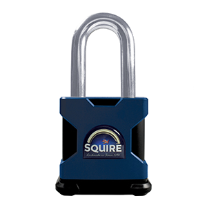 SQUIRE Stronghold Long Shackle Padlock Body Only To Take Scandinavian Oval Insert 1 Locksmith in Stirling