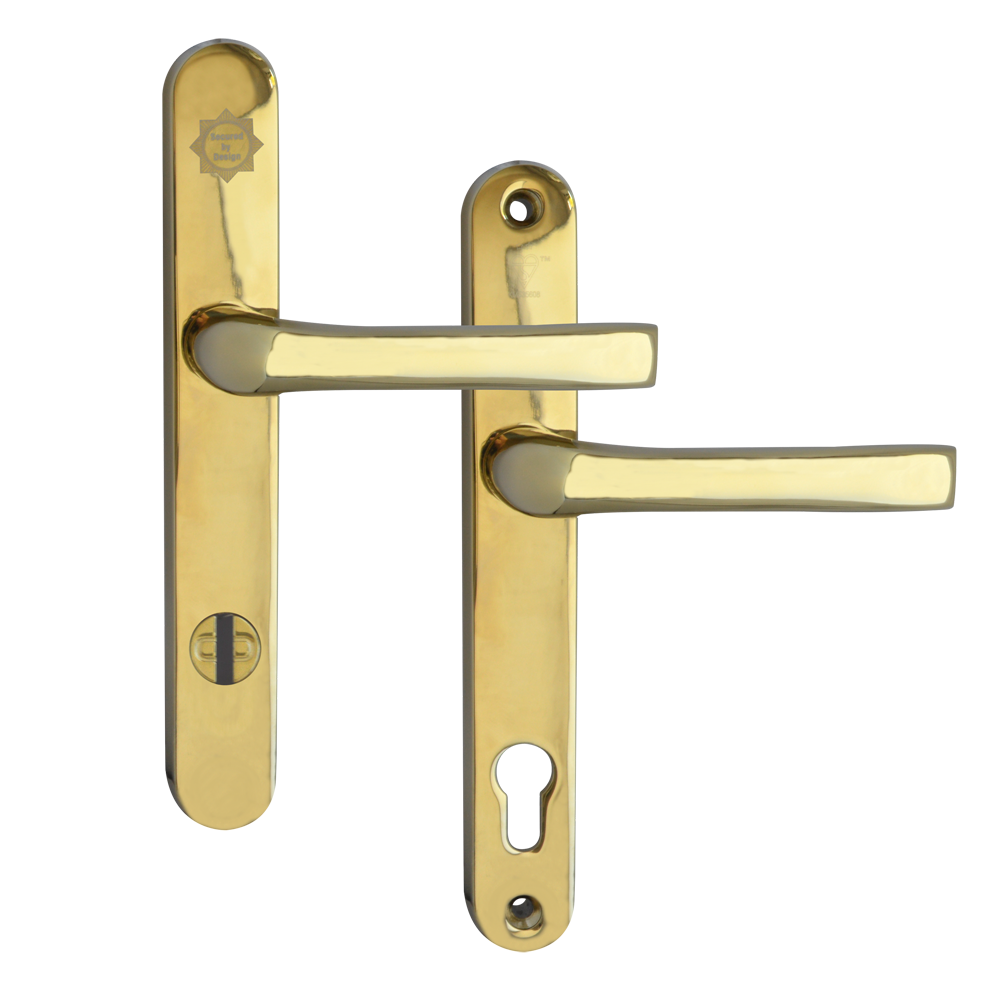 MILA Kite Secure PAS24 2 Star 240mm Lever/Lever Door Furniture 92/62 Centres 1 Locksmith in Stirling