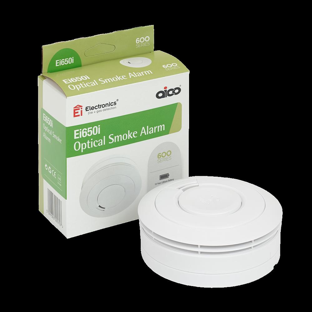 EI Battery Powered Optical Smoke Alarm 1 Locksmith in Stirling