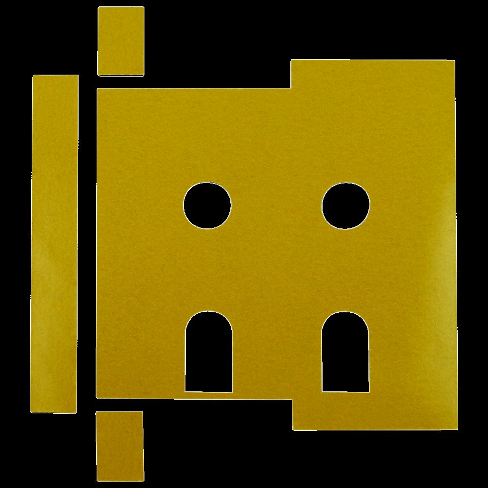 FIRESTOP Self-Adhesive Universal Intumescent Dinlock Kit 1 Locksmith in Stirling