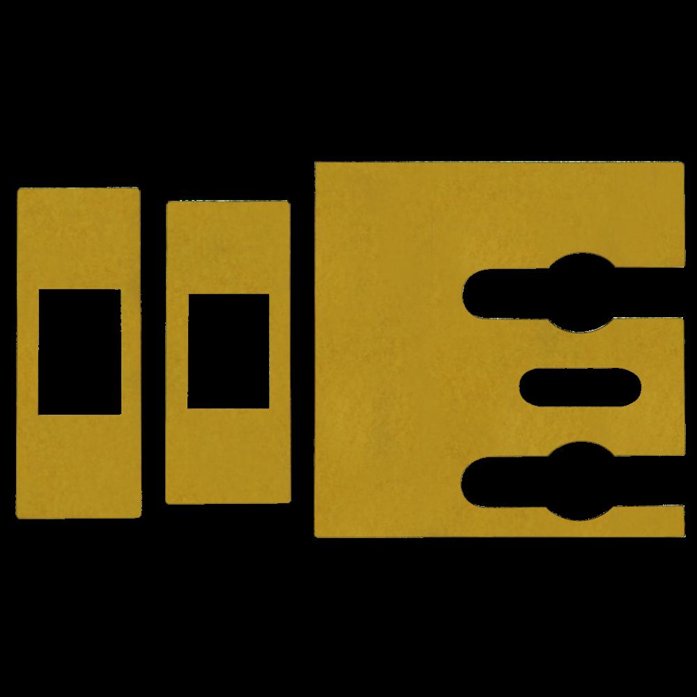 FIRESTOP Self-Adhesive Universal Intumescent Tubular Latch Kit 1 Locksmith in Stirling
