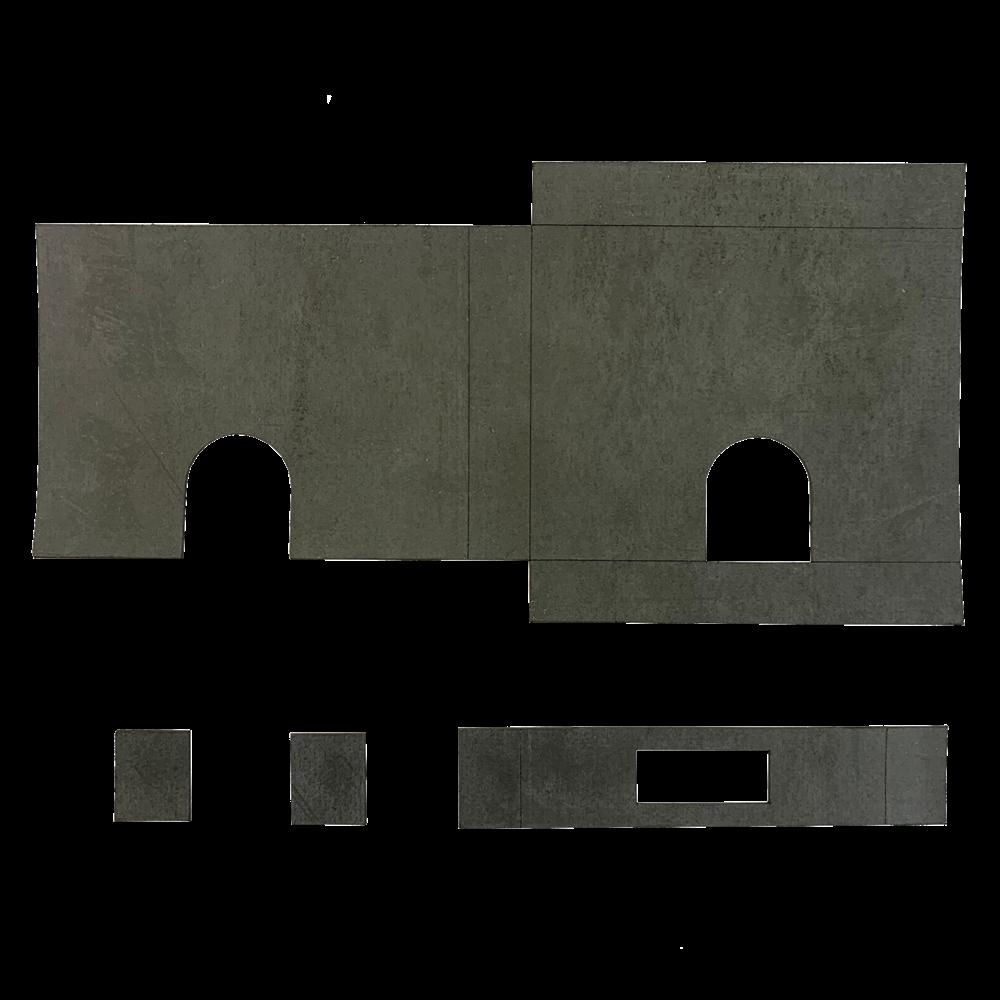 FIRESTOP Self-Adhesive Universal Intumescent FB1/FB2 Deadlock Kit 1 Locksmith in Stirling