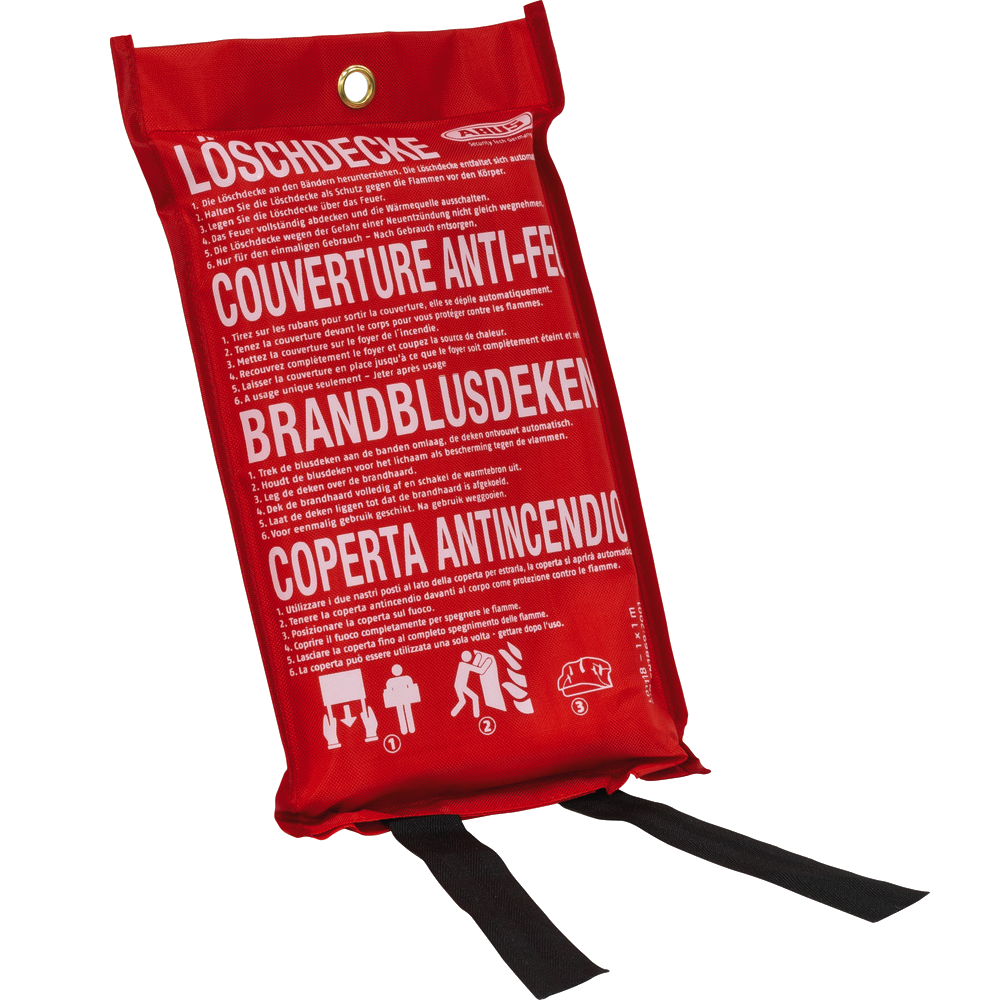 ABUS LD1118 Fire Blanket - 1m x 1m 1 Locksmith in Stirling