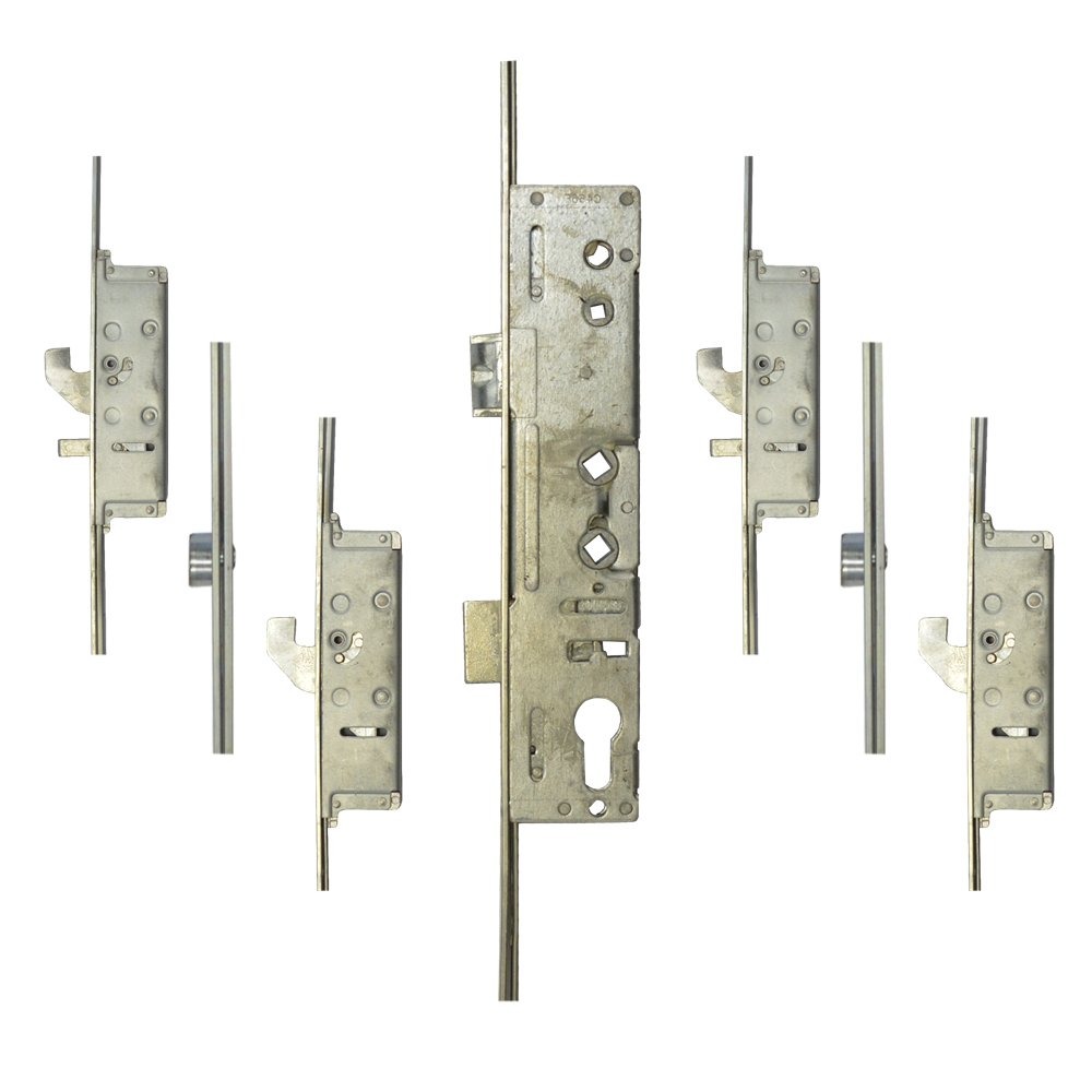 LOCKMASTER Lever Operated Latch & Deadbolt Single Spindle - 4 Hook 2 Anti-Lift 2 Roller 1 Locksmith in Stirling