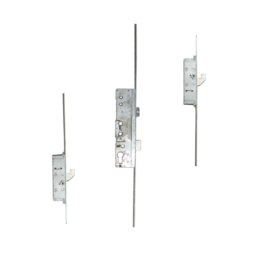 LOCKMASTER Lever Operated Latch & Deadbolt Single Spindle Radius Faceplate - 2 Hook 1 Locksmith in Stirling