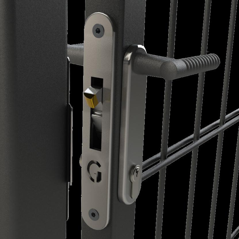 GATEMASTER ML4 Full Plate Mortice Gate Hook Lock 1 Locksmith in Stirling