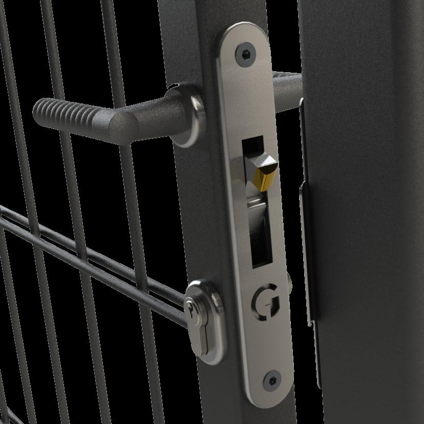 GATEMASTER ML4 Dual Cover Mortice Gate Hook Lock 1 Locksmith in Stirling