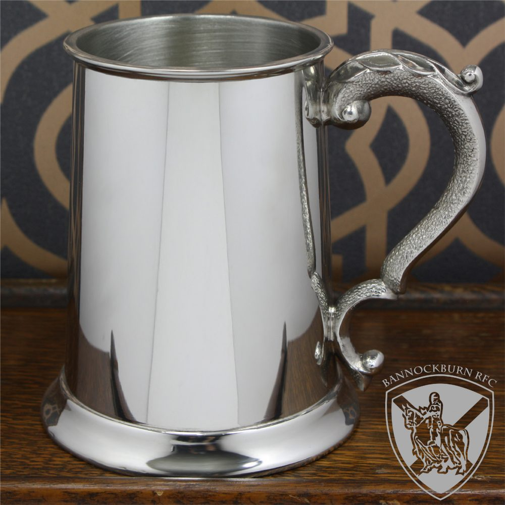 Clubs & Societies - 1 Pint Pewter Classic Personalised Tankard 1 Locksmith in Stirling